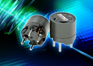 1200RS & 1200LRS : Shielded inductors provide a power line filtering solution in applications with EMI susceptibility