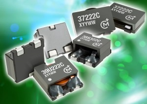 3700, 3800 & 3900 : Surface mount low loss flat coil inductors aimed at high current applications