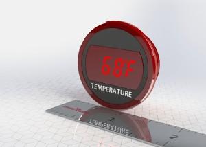 DMR20-1-TMP-R-C : Murata announces panel mount digital thermometers