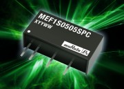 MEF1 : Murata MEF1 regulated DC-DC converter provides 3 kVDC isolation suits industrial automation applications