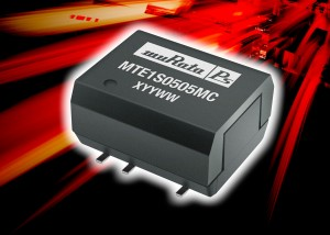 MTE1 : 1 Watt DC-DC converter achieves 88% efficiency and has MSL 1 moisture sensitivity rating