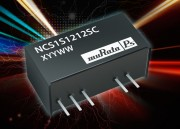 NCS1 Series : Murata 1 W DC-DC converter improves efficiency and reduces footprint