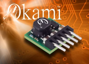 OKR-T/1.5-W12 : 1.5A miniature SIP Addition to Okami Range of POL DC-DC converter