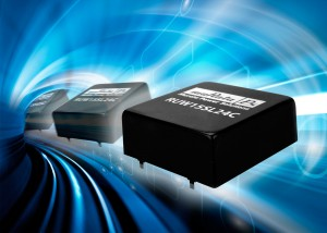 RUW15 : 15 W DC-DC converter with 16 - 160 VDC input range for transportation applications