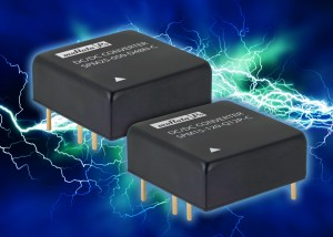 SPM15 & SPM25 Series  : Highly reliable encapsulated DC-DC converters for harsh environment applications with 88% efficiency
