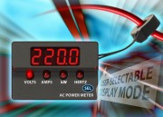 ACM20 : Universal four-function AC Power Meters provide compact True RMS metering solution