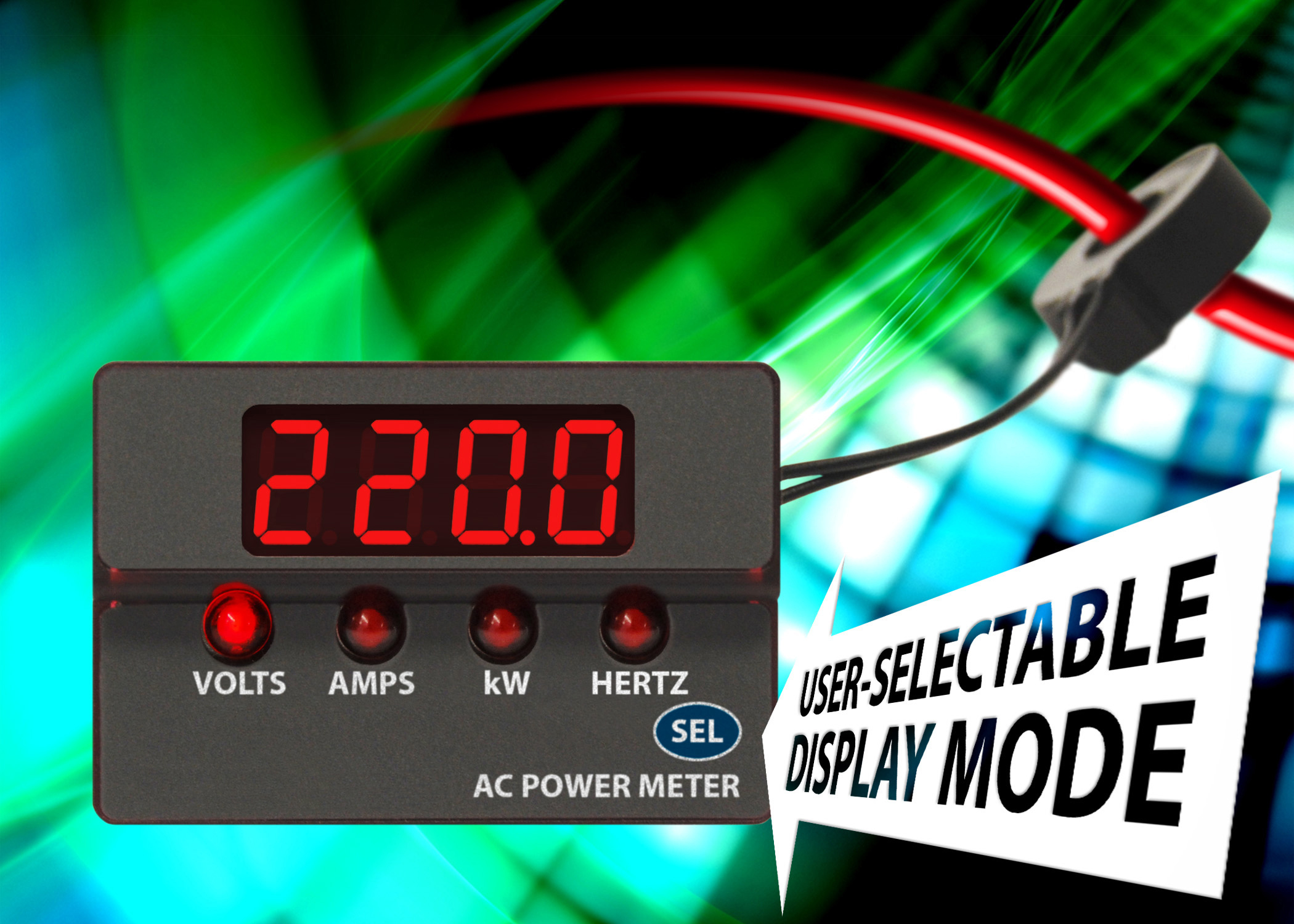 New Digital Panel Meters News Murata Power Solutions Volt Amp Ampere Meter With Pic Acm20 Ac Range Extends Industrys First Low
