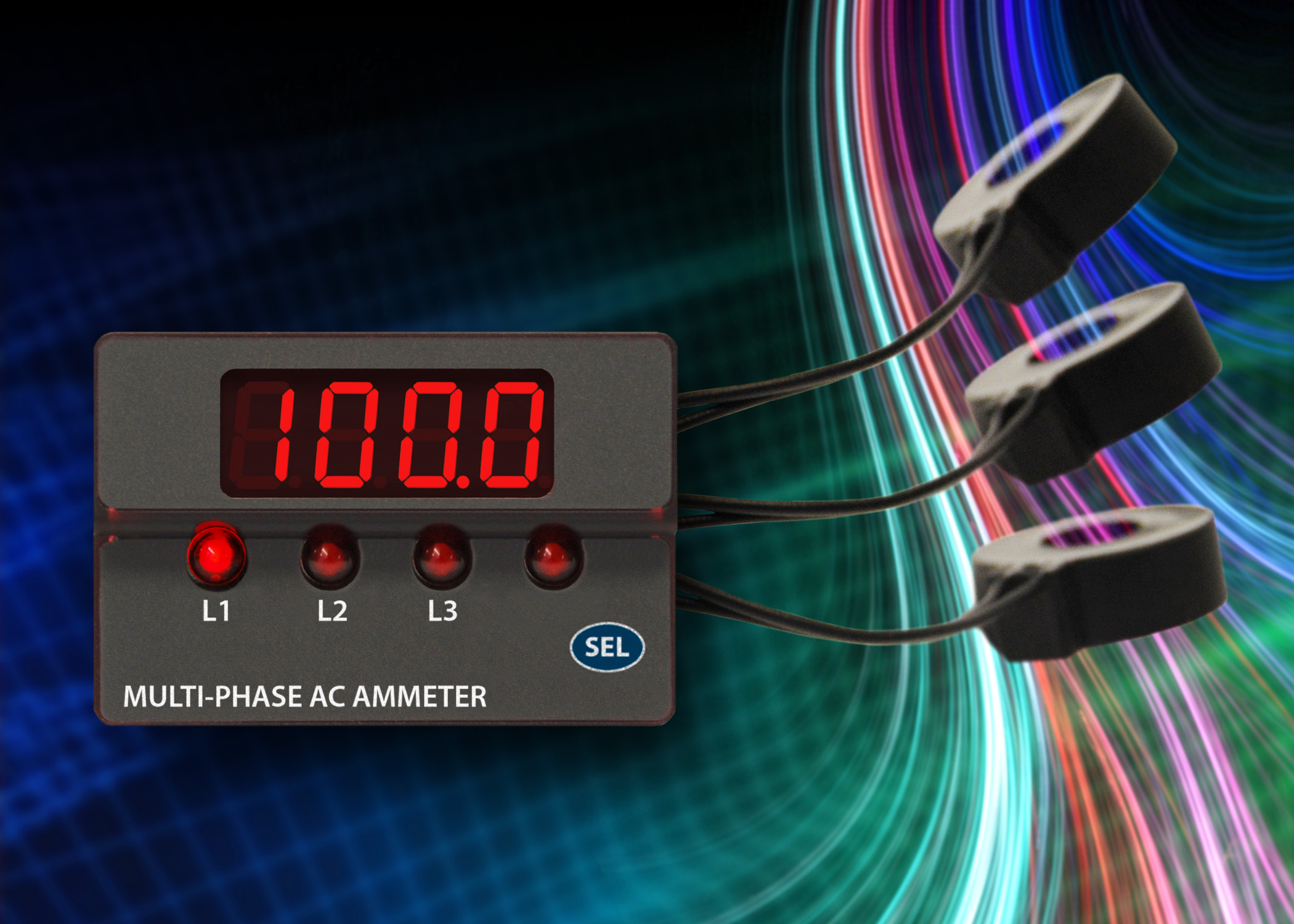Digital Ammeter Panel Mount : Acm p murata power solutions launches compact phase ac