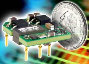 BEI15 DC/DC converters from Murata Power Solutions deliver 15W of high efficiency power from one square inch of board area