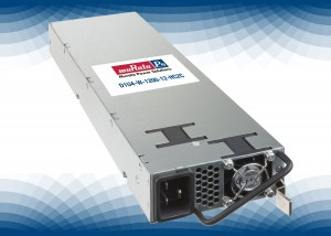D1U4-W : Front End power supply combines high efficiency and power density to save energy and space in distributed power architecture systems