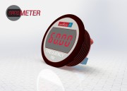 DMR20-1-FM-R-C : Self-powered LED meter displays AC line frequency