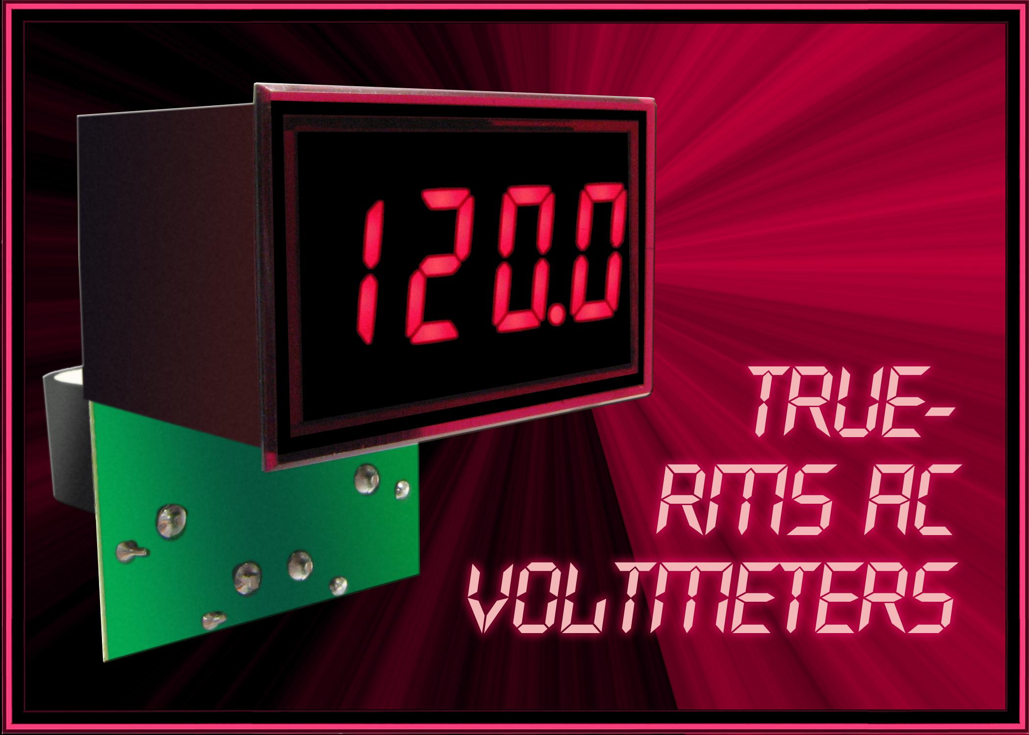 True Rms Voltmeter True-rms Voltmeters