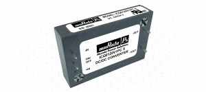 ICQ Series : Efficient 250W baseplate cooled quarter-brick DC-DC converter