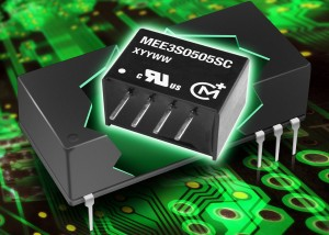 MEE3 series of DC/DC converters achieves 50% power output increase within the same package