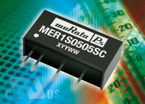 MER1 : 1W single output DC/DC converter series combines excellent regulation and efficiency performance in an industry-standard package