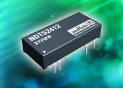 NDTD and NDTS : 5V and 12V Versions Broaden Offering of Low-Profile Isolated Output DC/DC Converters