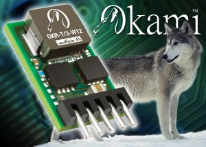 OKR-T/3-W12-C : Okami™ PoL DC/DC Converter range expands with the introduction of 3A miniature SIP