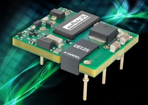 UEI25 Series Low-profile open-frame DC-DC converters from Murata Power Solutions deliver 25W from one square inch of board area