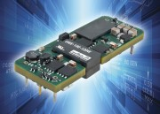 UWE 100-120W : Highly efficient high current eighth-brick DC/DC converters suit high density embedded applications