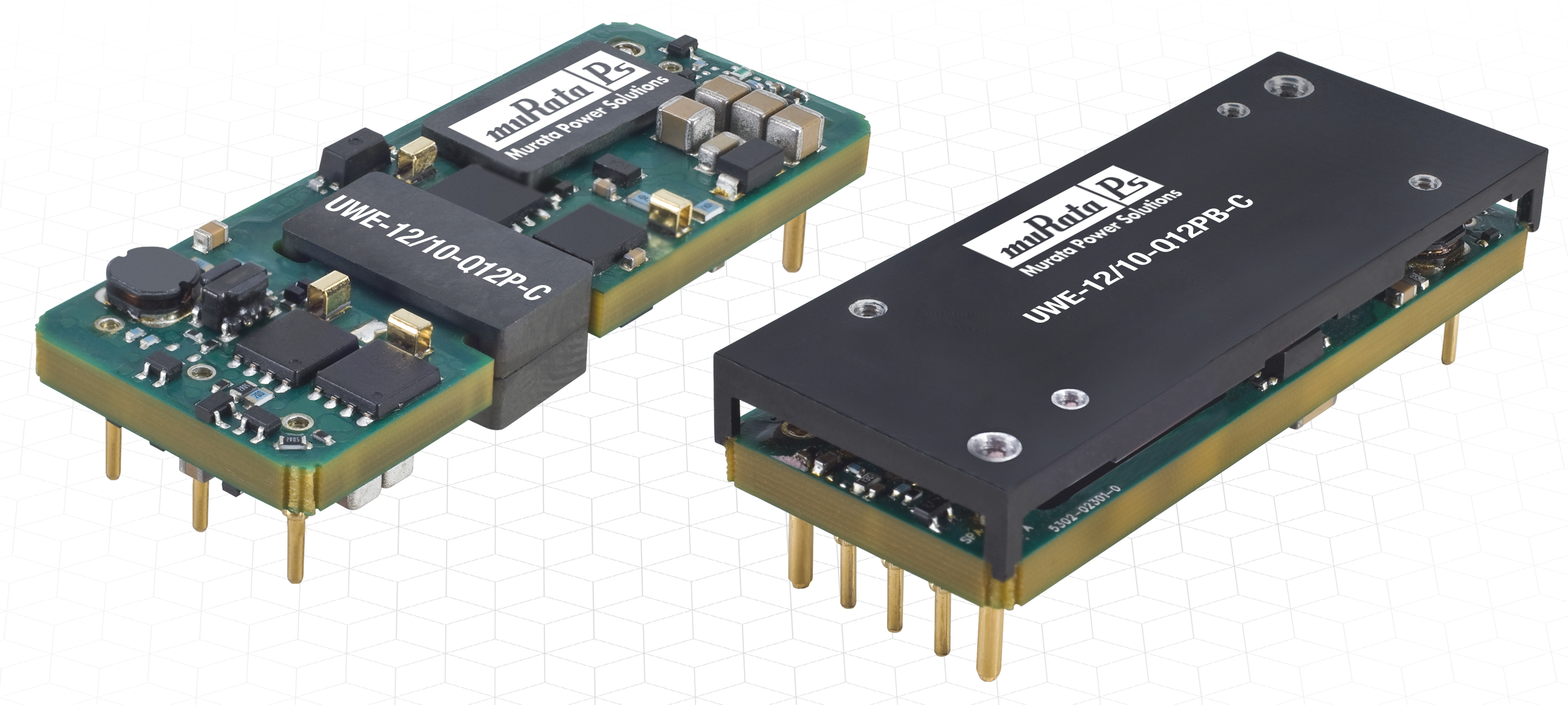 Uwe 12 10 Q12 Muratas Eighth Brick Dc Modules Have Ultra Wide Ac Powered Led Circuit 120w Flood Lights Enkonn Technology Co Ltd